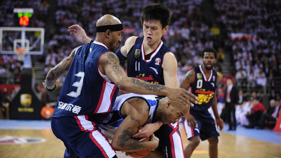 Stephon Marbury The Nba Player Who Embraced China Bbc News Side projects in fantasy football. stephon marbury the nba player who