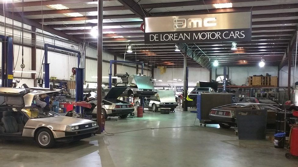 The shop floor where repairs are made