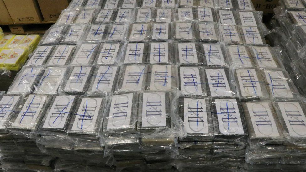 Cocaine worth €1bn seized in Germany's largest haul