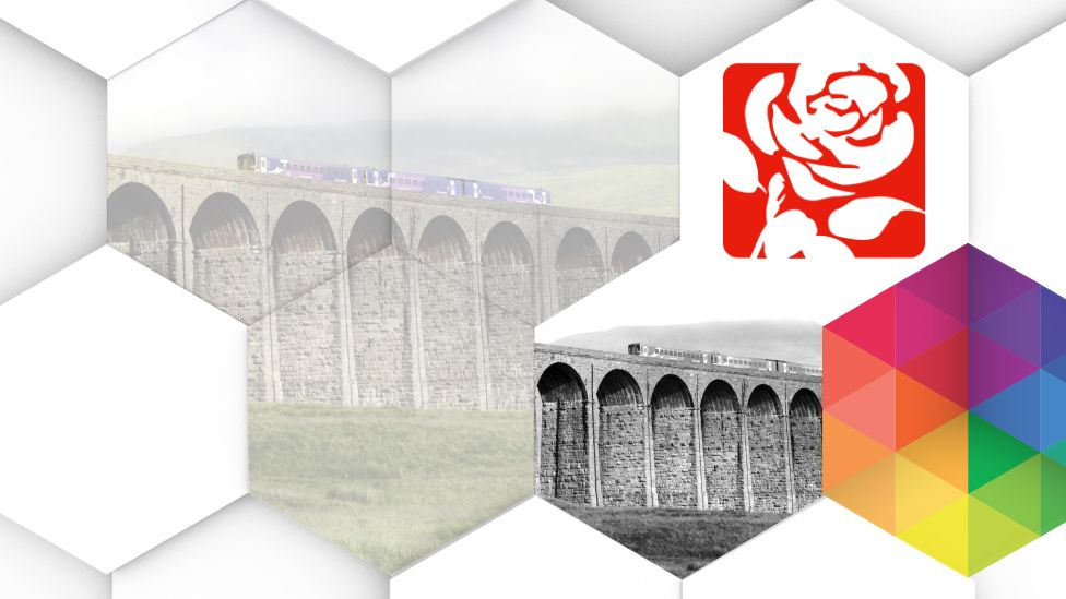 Ribble Valley / Labour logo