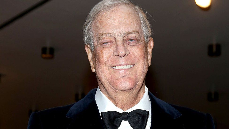 David Koch: Billionaire Republican donor dies aged 79