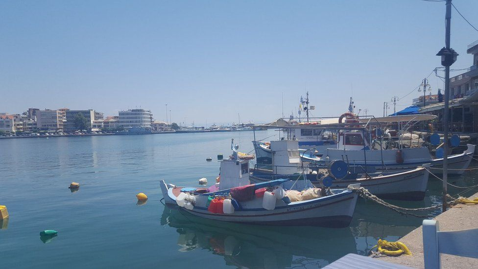 Mytilene port, Lesvos