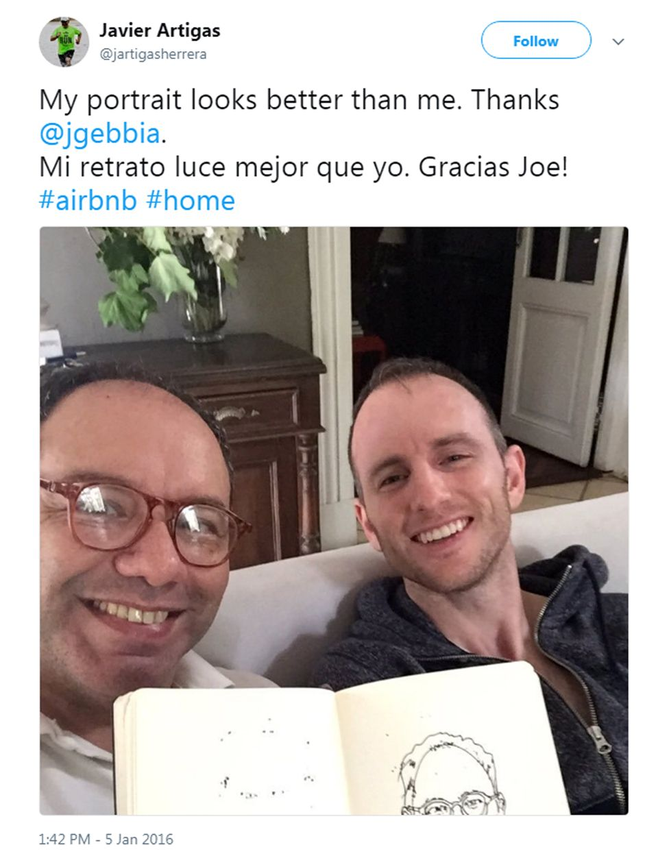Javier and Gebbia