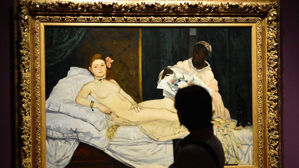 Edouard Manet's Olympia - file pic from Venice April 23, 2013