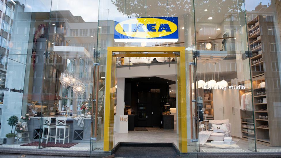 Ikea's small-format shop, London