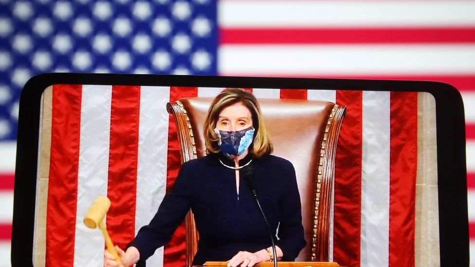 Impeachment House Lays Out Case Against Trump Bbc News