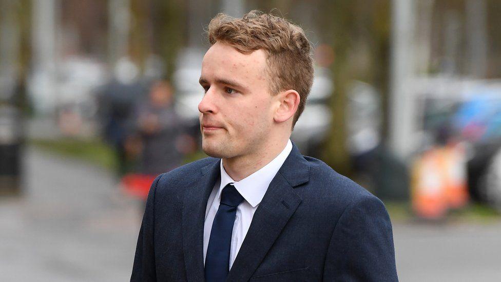 Otto Putland arriving in court
