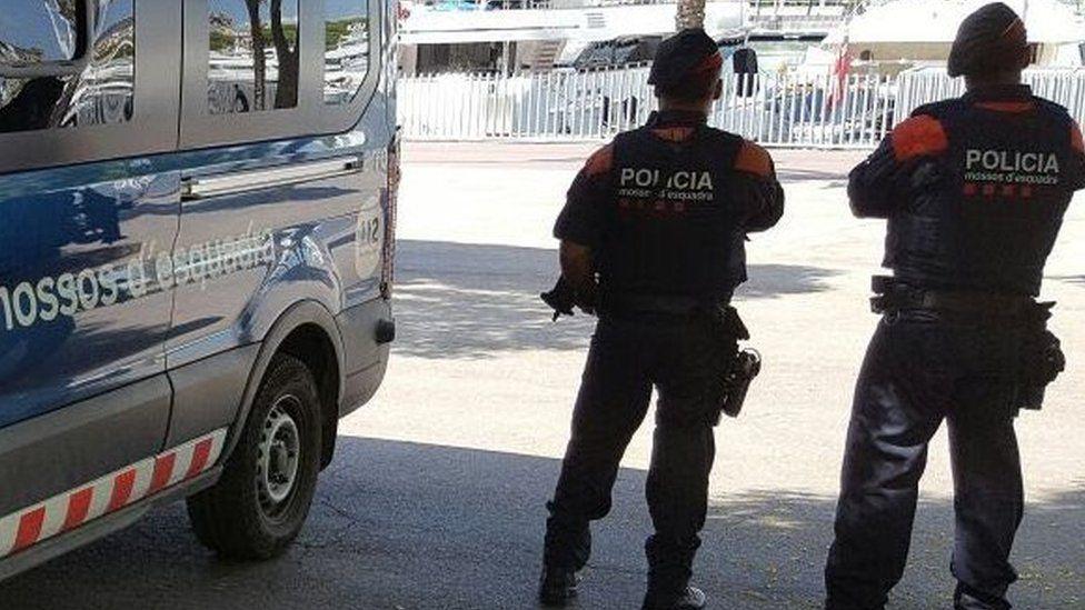 File pic of Mossos d'esquadra