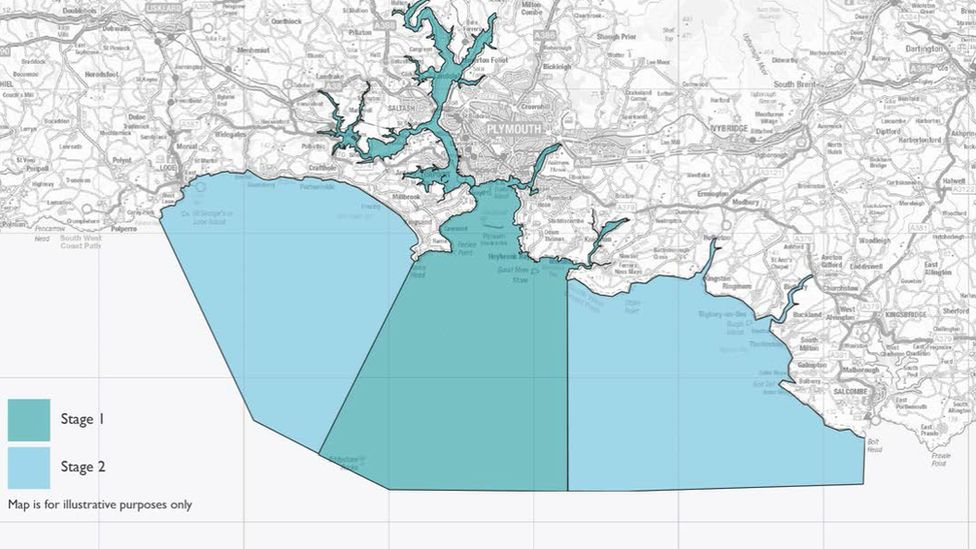 Plymouth Sound map