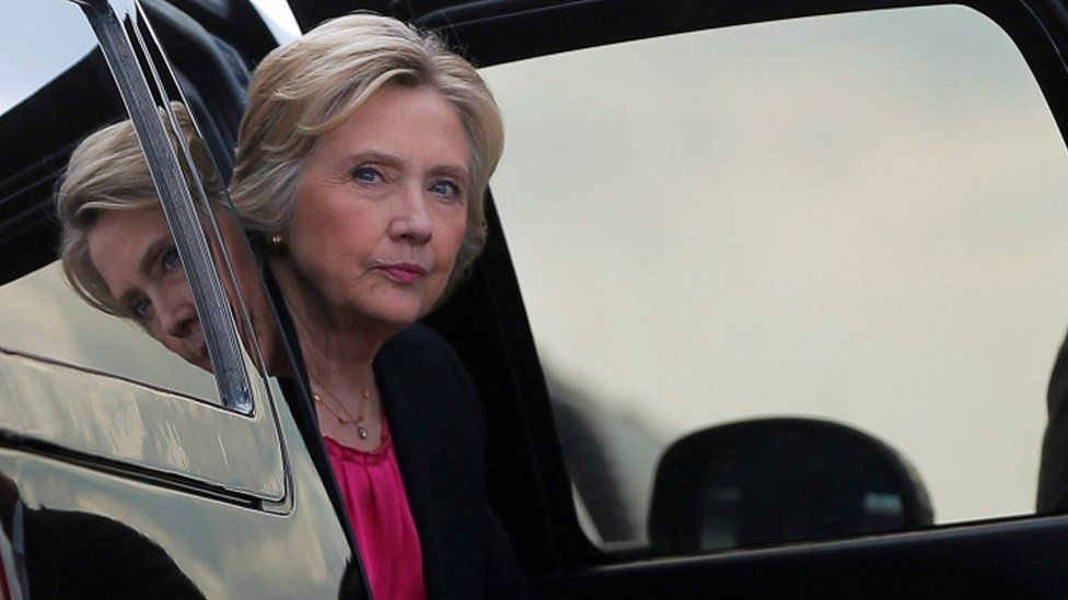 Hillary Clinton appears in Florida