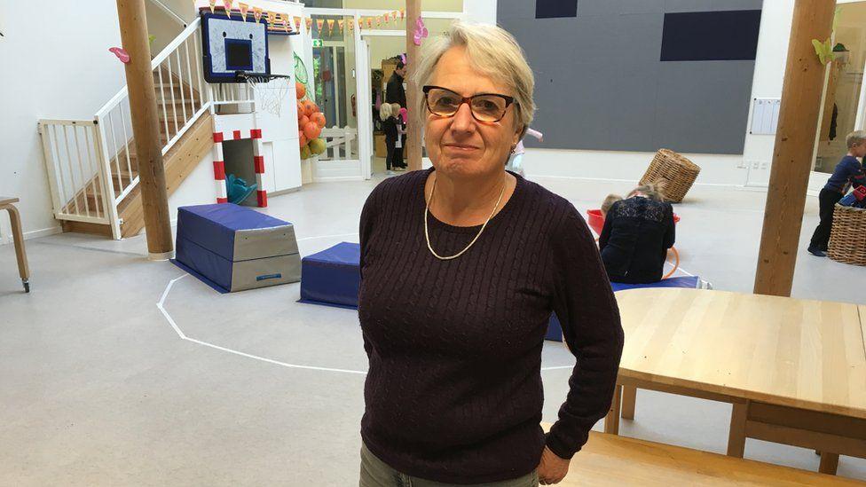 Anna Koefoed head of kindergarten