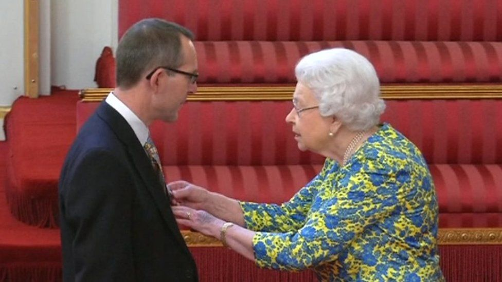 John Volanthen and the Queen
