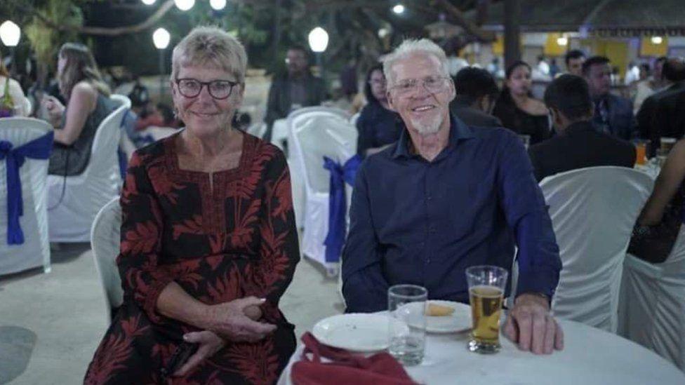 Ivor Gunton and Geraldine Davis