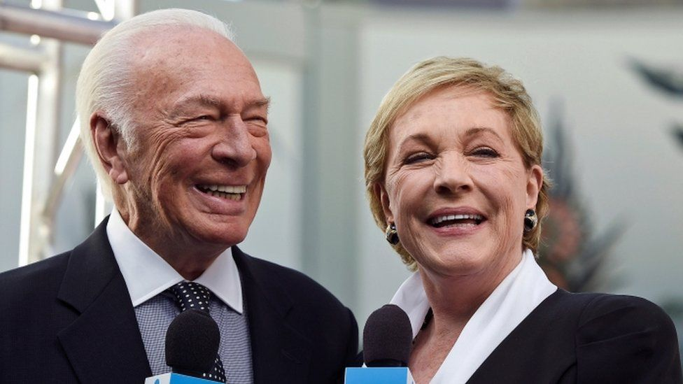 Christopher Plummer with Dame Julie Andrews