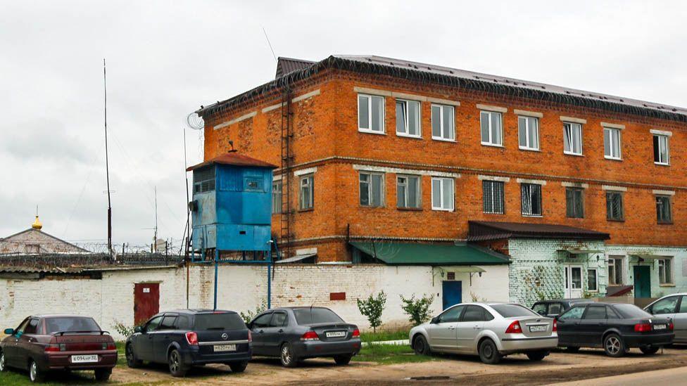 Penal colony number six in Bryansk region