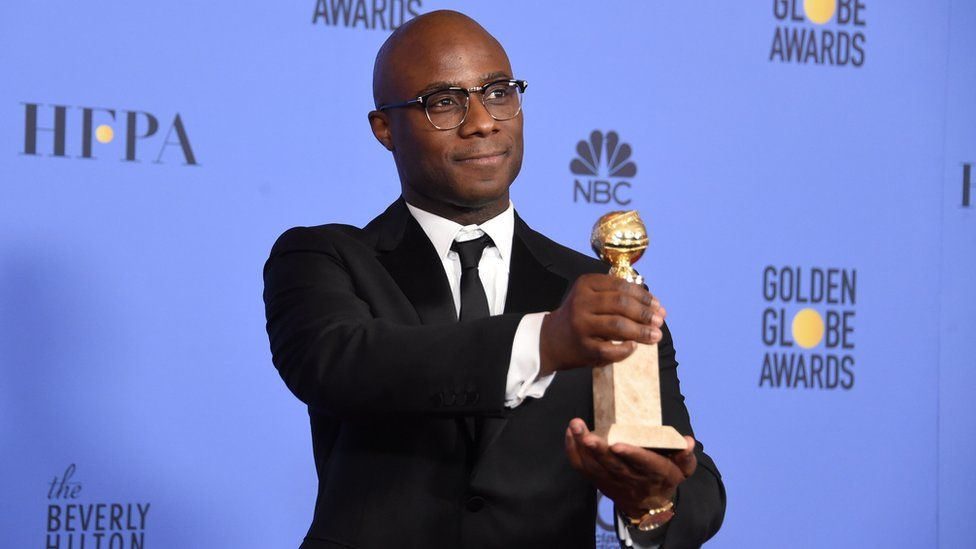 Barry Jenkins at Golden Globes