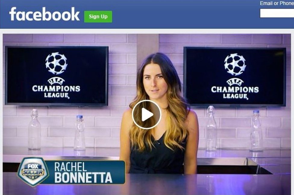 Rachel Bonnetta of Fox Sports