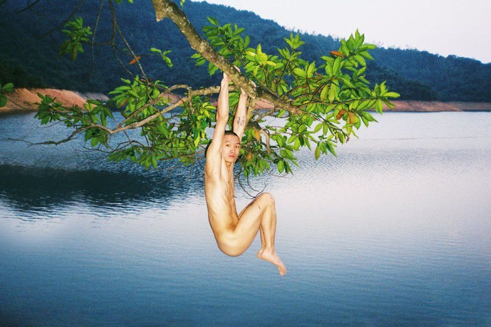 Picture by Chinese photographer Ren Hang as published in his Taschen book