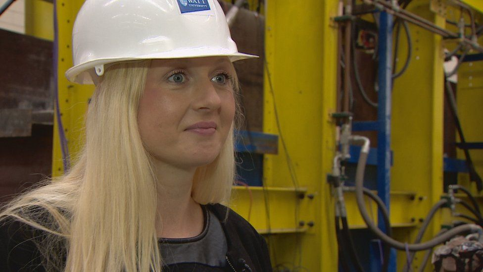 Dr Tina Marolt says the positions of the sensors have been chosen very carefully