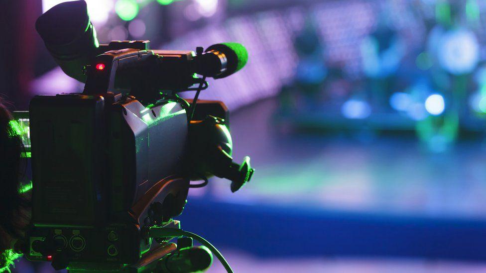 Representational image of television camera