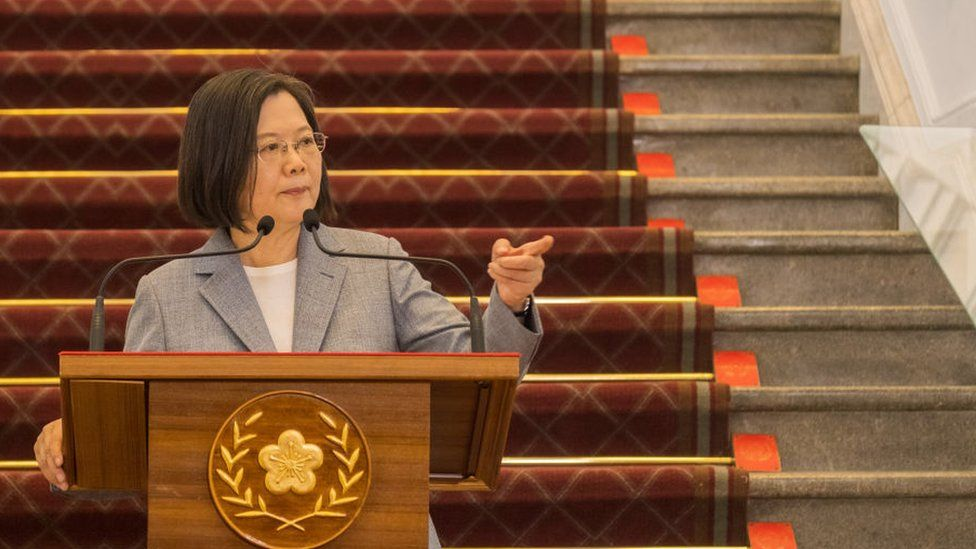 China-Taiwan tensions: We will not bow to Beijing pressure, says leader thumbnail