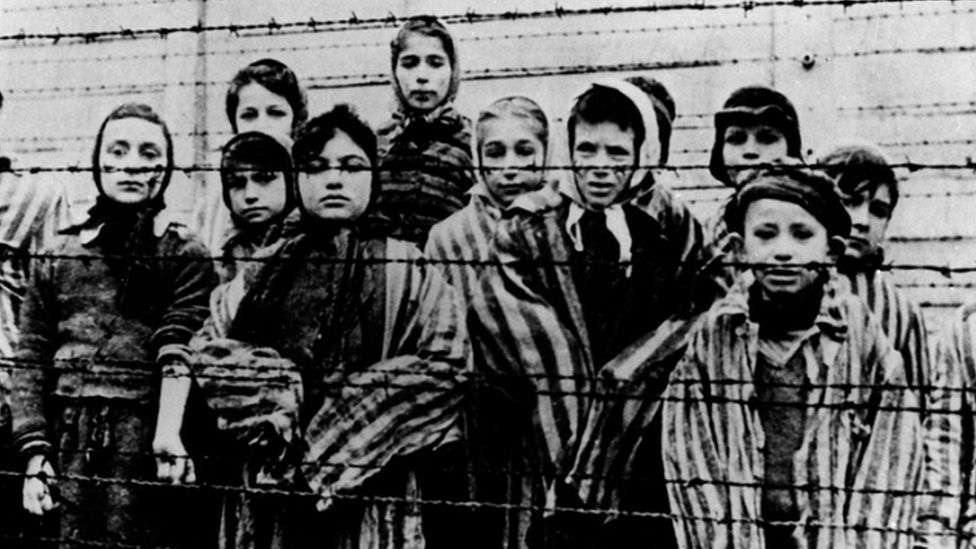 children in Auschwitz