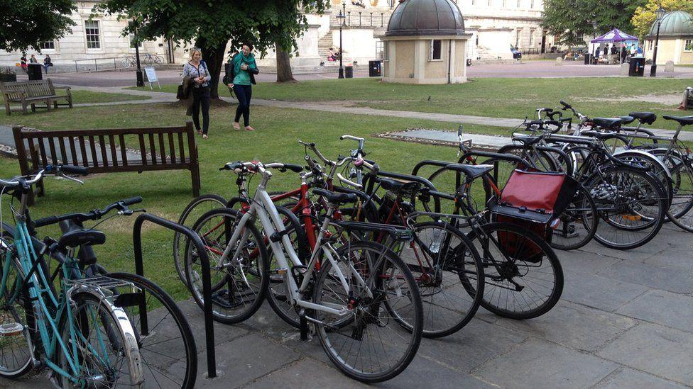 University bikes