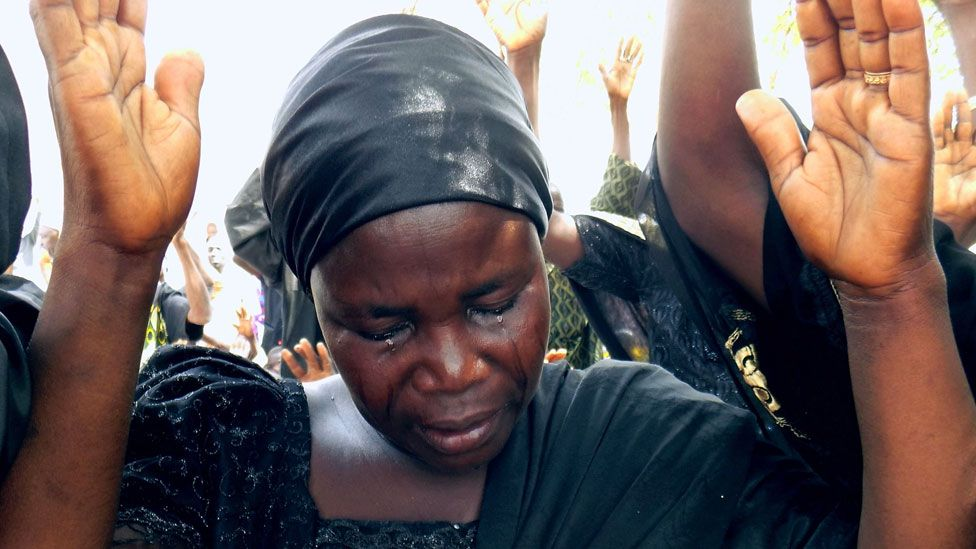 Letter from Africa: Why Chibok parents turning to TV 'miracle