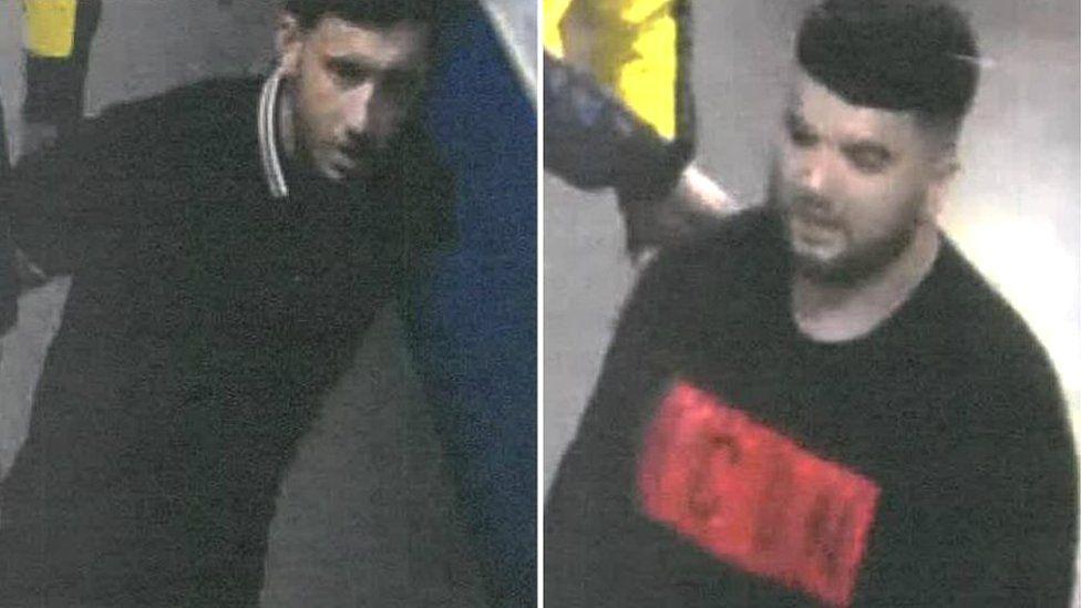 CCTV images at Drake concert