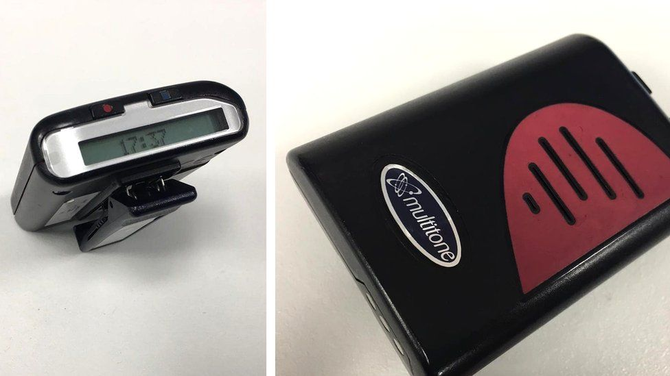 NHS pager