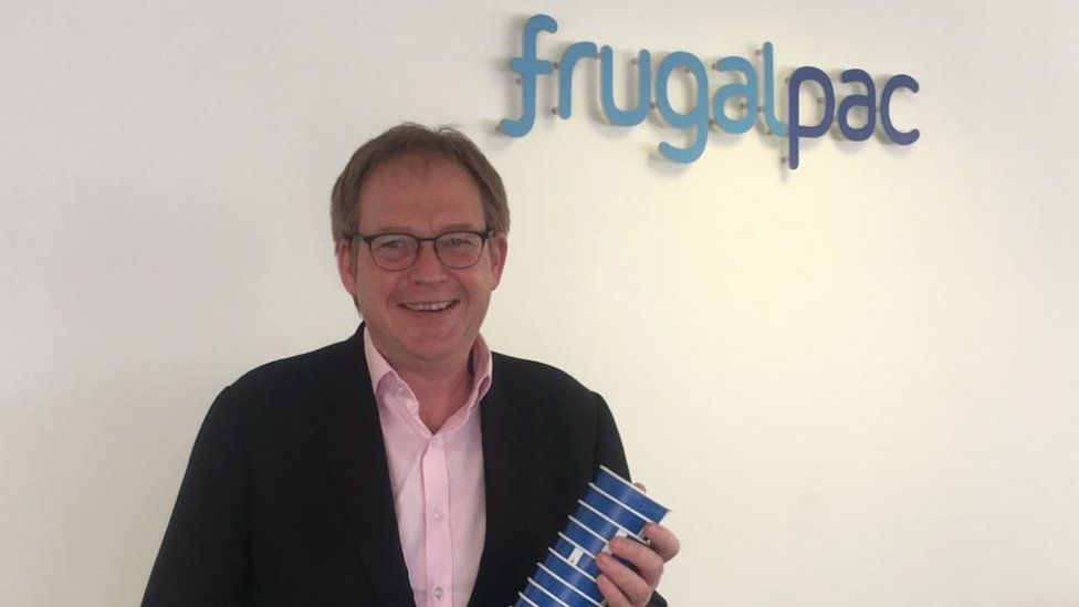 Frugalpac chief executive Malcolm Waugh