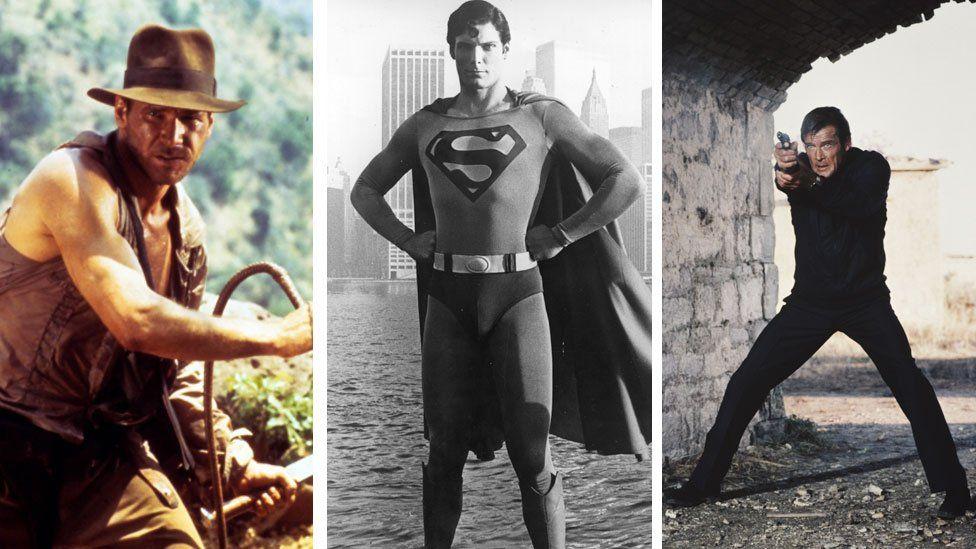 Indiana Jones, Superman, James Bond