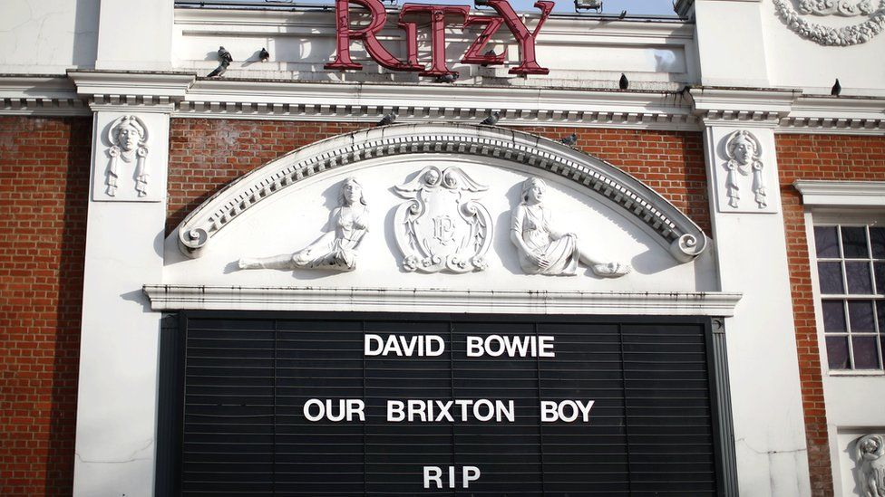 Bowie tribute in Brixton
