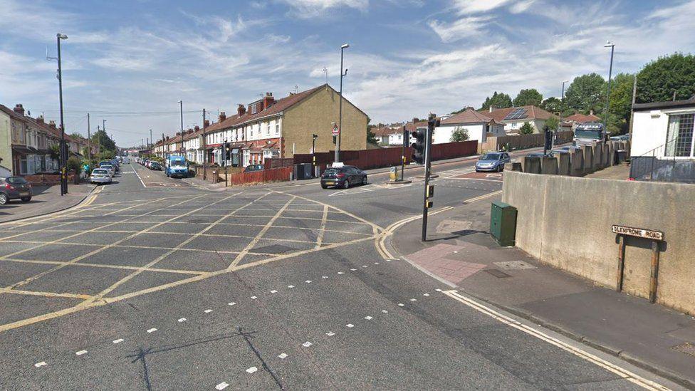 Glenfrome Road/Muller Road junction