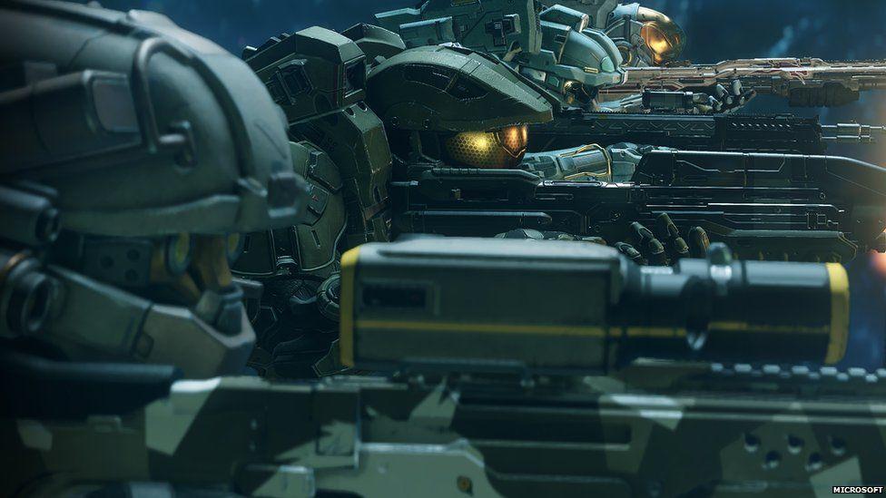Halo 5 gameplay