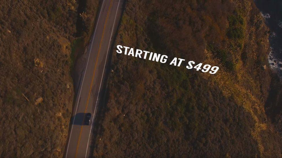 Spoof Honda car ad