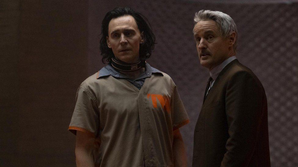 Tom Hiddleston and Owen Wilson star in Loki