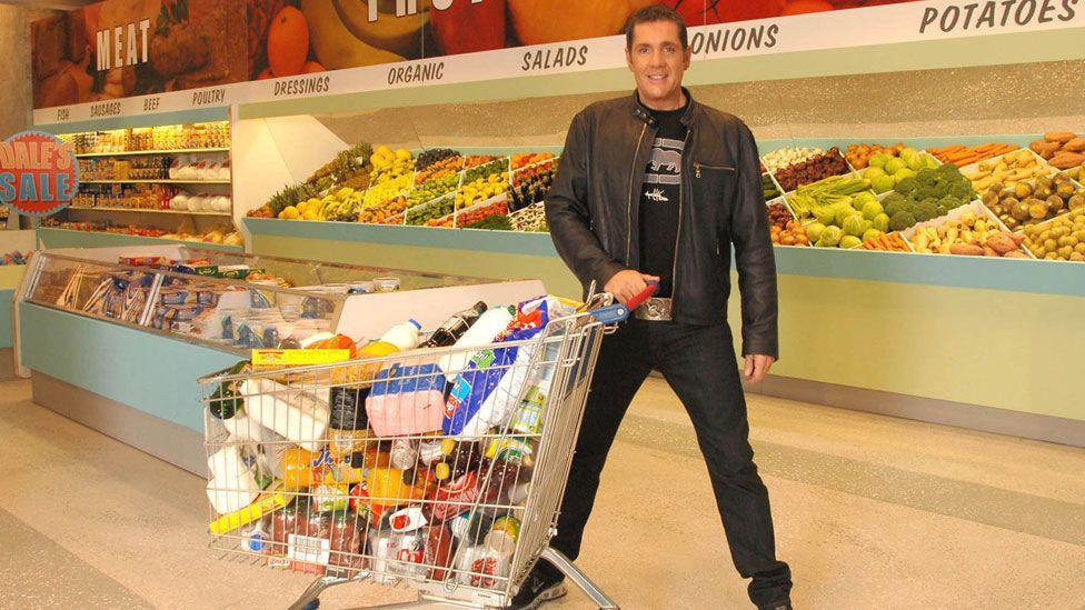 Dale Winton hosting Supermarket Sweep