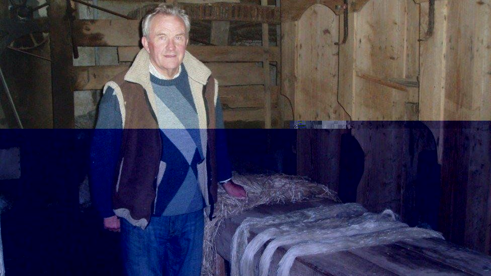 Harold Bennett is painstakingly restoring his grandfather's mill