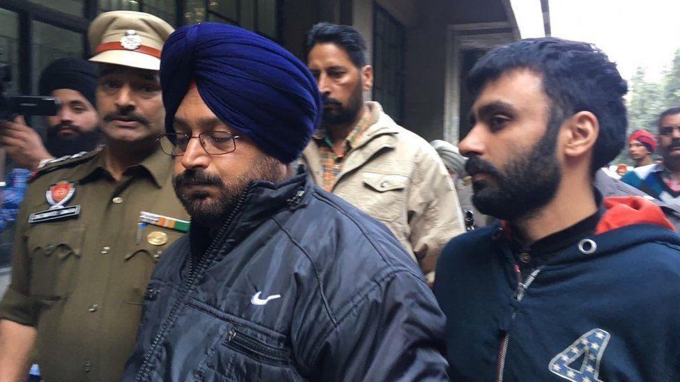 Jagtar Johal Singh appears in Punjab, India Court