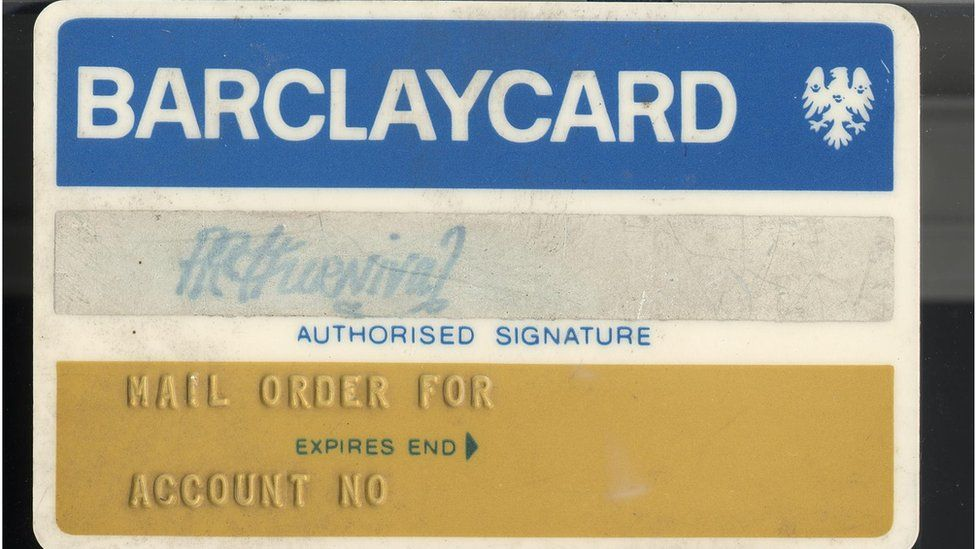 The first Barclaycard