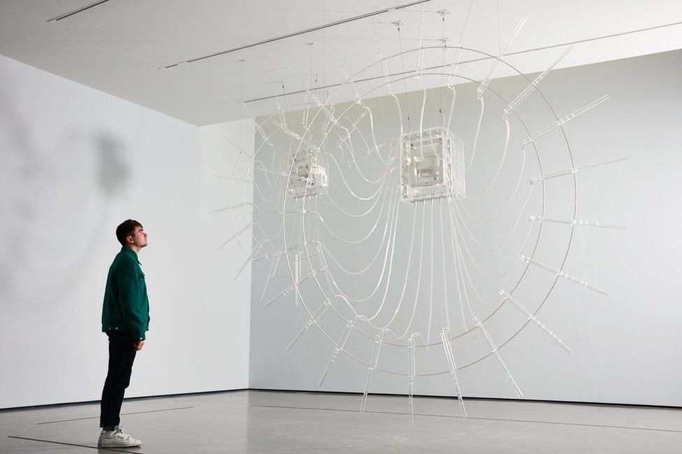 Cerith Wyn Evans' Composition for 37 flutes