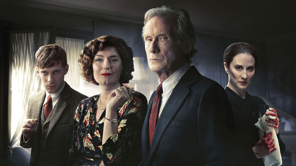 The cast from Ordeal by Innocence