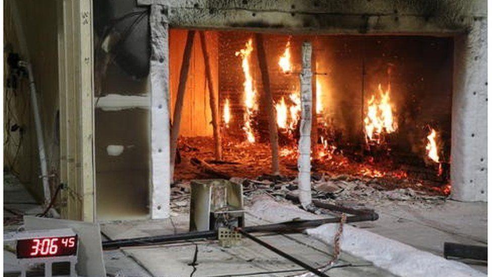 Fire testing