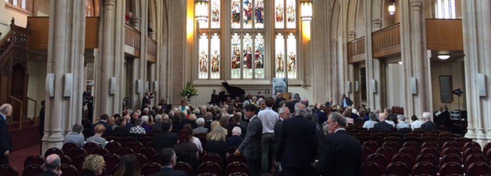 The Nicholas Winton memorial service