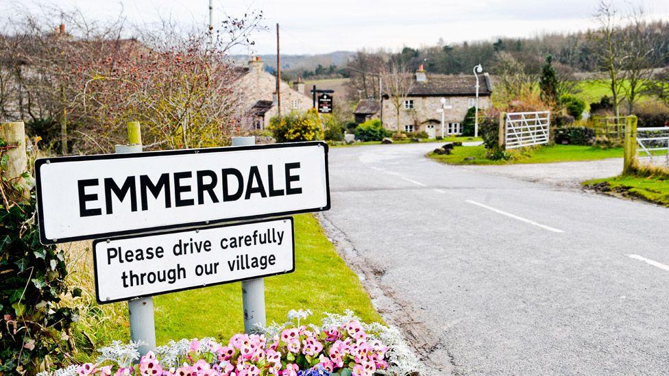 Emmerdale set
