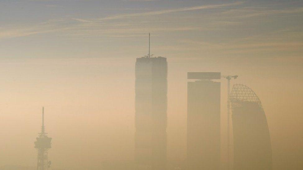 Pollution in Milan