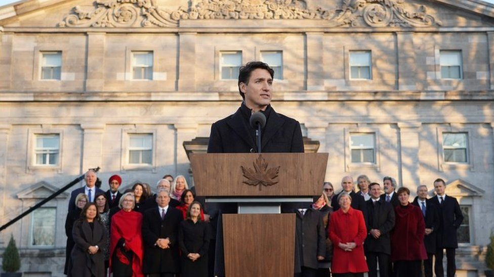 Prime Minister Justin Trudeau unveils new cabinet