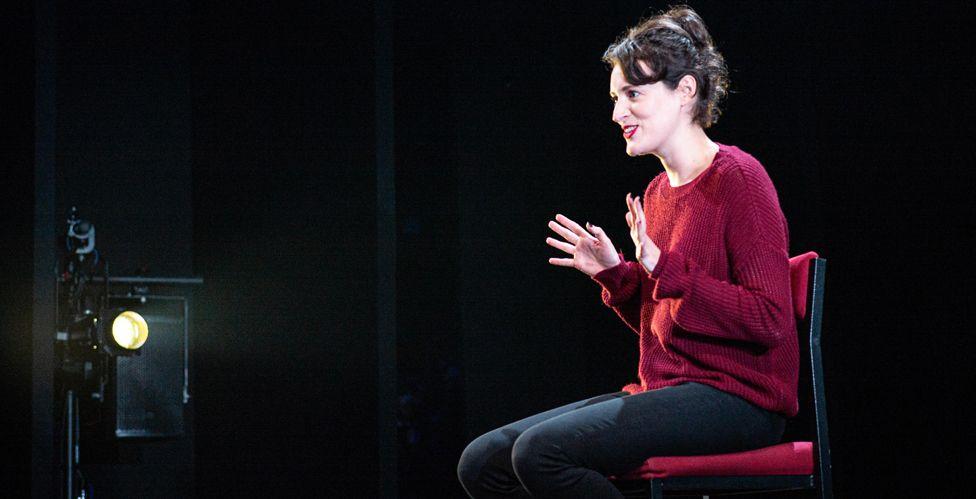 Phoebe Waller-Bridge on stage