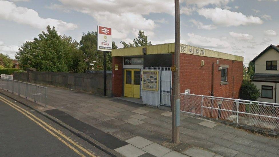 West Allerton railway station